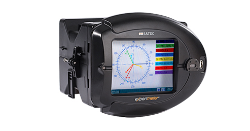 Disturbance Direction Detection with the PM180 SATEC Analyzer
